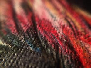 Макро фламингово крыло. #watercolorpencils #pinkflamingo #flamingo #карандаши #акварельныекарандаши #цвет #colorful #colour #colors #ec #custodieva #macro #makro #макро